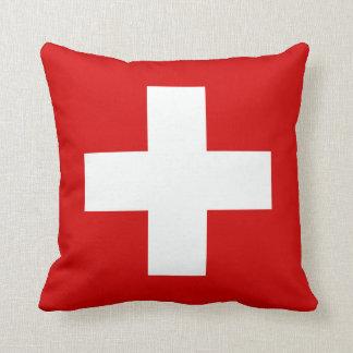 スイス連邦共和国の旗 クッション