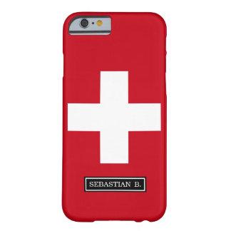スイス連邦共和国の旗 BARELY THERE iPhone 6 ケース