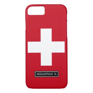 スイス連邦共和国の旗 iPhone 8/7ケース