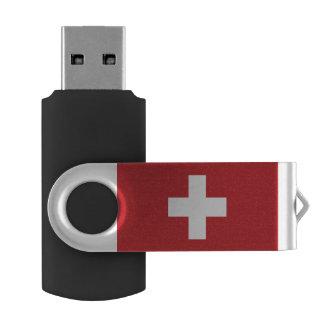スイス連邦共和国の旗 USBフラッシュドライブ