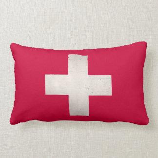 スイス連邦共和国の汚い十字 ランバークッション
