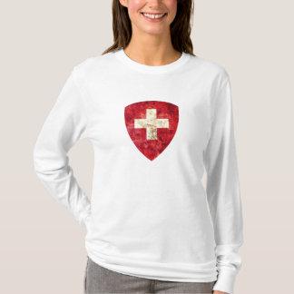 スイス連邦共和国の紋章付き外衣 Tシャツ