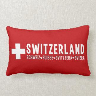 スイス連邦共和国の装飾用クッション ランバークッション
