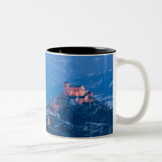 スイス連邦共和国、ウォリスまたはヴァレー州、SION: Basilique de ツートーンマグカップ