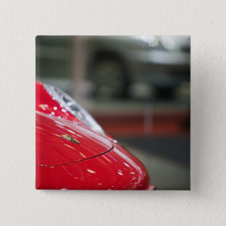 スイス連邦共和国、ジュネーブ: 第75ジュネーブの年次自動車2 5.1CM 正方形バッジ