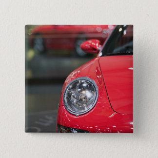 スイス連邦共和国、ジュネーブ: 第75ジュネーブの年次自動車8 5.1CM 正方形バッジ