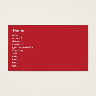 スイス連邦共和国-ビジネス 名刺