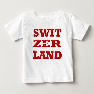 スイス連邦共和国 ベビーTシャツ