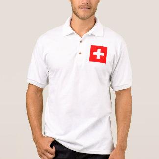 スイス連邦共和国 ポロシャツ