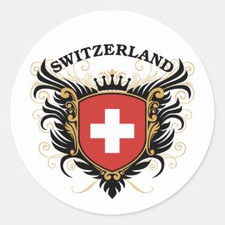 スイス連邦共和国 ラウンドシール