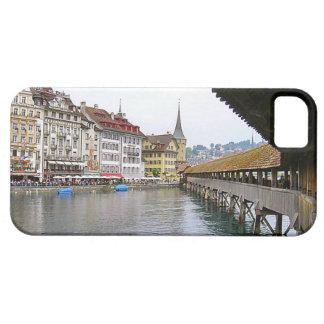 スイス連邦共和国、ルツェルンの古い橋 iPhone SE/5/5s ケース