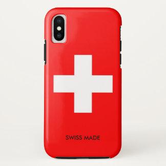 スイス連邦共和国 iPhone X ケース