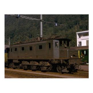 スイス連邦共和国、SSB -スイス人Fed. Ry -電気10693、 ポストカード