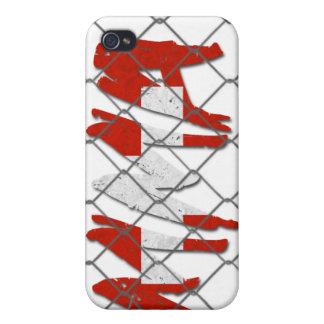 スイス連邦共和国MMAの白のiphone 4ケース iPhone 4/4S Case