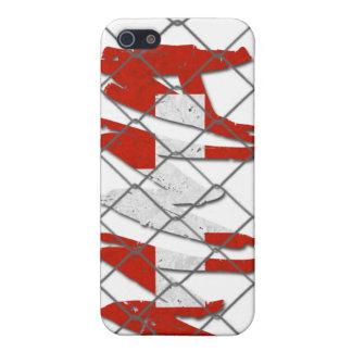 スイス連邦共和国MMAの白のiphone 4ケース iPhone 5 カバー