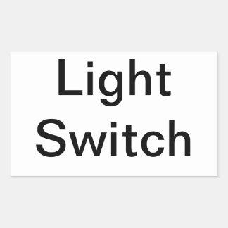 スイッチの印 長方形シール