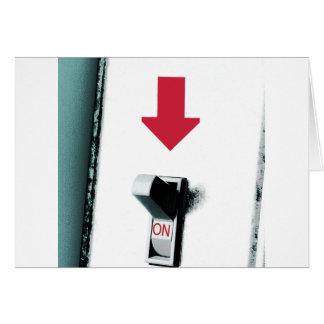 スイッチ グリーティングカード