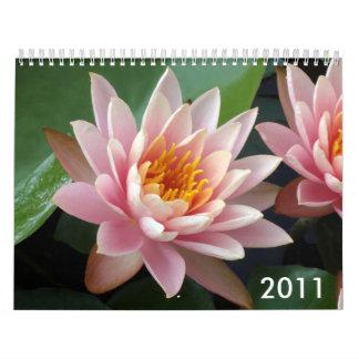 スイレンのカレンダー2011年 カレンダー