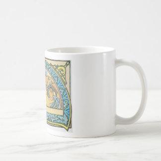 スイレンのマグ コーヒーマグカップ