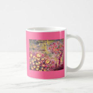 スイレンの咲くこと コーヒーマグカップ