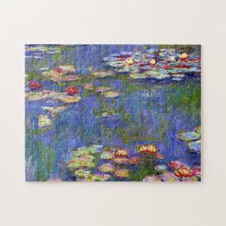 スイレンの池のクロード・モネのファインアート ジグソーパズル