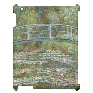 スイレンの池上のMonetの芸術橋 iPad カバー
