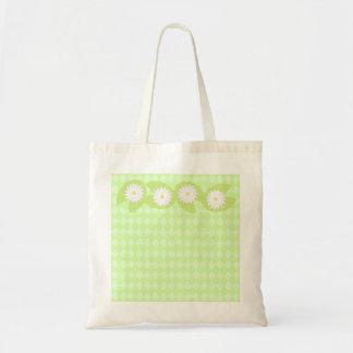 スイレンの浮いている葉のバッグ トートバッグ