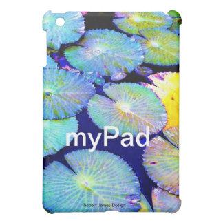 スイレンの浮いている葉のiPadの場合 iPad Miniケース
