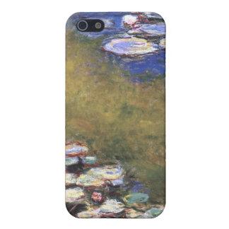 スイレン、クロード・モネ iPhone 5 CASE