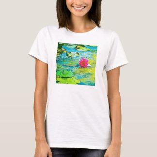 スイレンLilypad Tシャツ