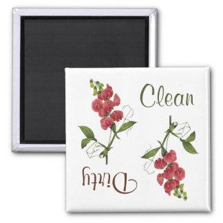 スイートピーによっては食洗機の磁石が開花します マグネット