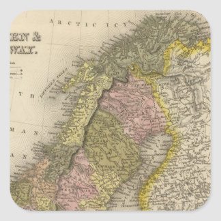 スウェーデンおよびノルウェー スクエアシール
