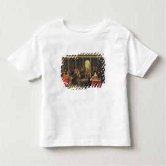 スウェーデンおよび彼女の裁判所のクリスティーナ女王 トドラーTシャツ