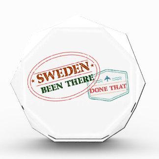 スウェーデンそこにそれされる 表彰盾