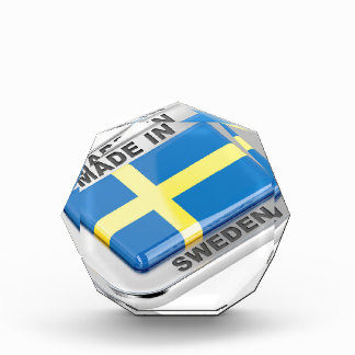 スウェーデンで作られる 表彰盾