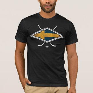 スウェーデンのアイスホッケーのロゴ Tシャツ