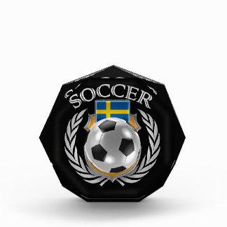スウェーデンのサッカー2016ファンのギア 表彰盾