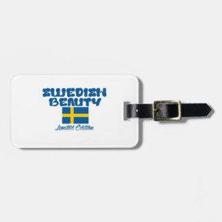 スウェーデンのデザイン ラゲッジタグ