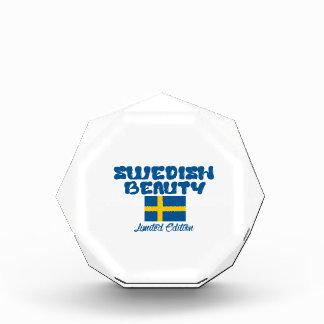 スウェーデンのデザイン 表彰盾
