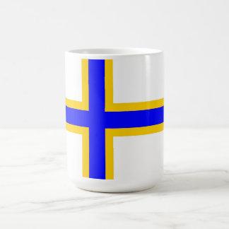 スウェーデンのフィンの人々の旗 コーヒーマグカップ
