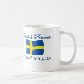 スウェーデンのプリンセス1 コーヒーマグカップ