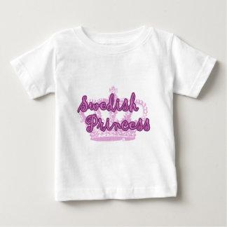 スウェーデンのプリンセス ベビーTシャツ