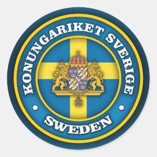 スウェーデンの円形浮彫り ラウンドシール
