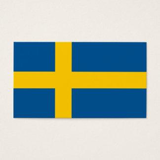 スウェーデンの名刺の旗 名刺
