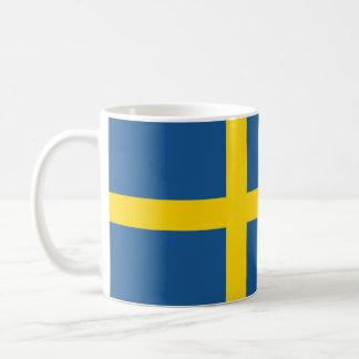スウェーデンの国旗の国家の記号 コーヒーマグカップ