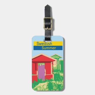 スウェーデンの夏 ラゲッジタグ