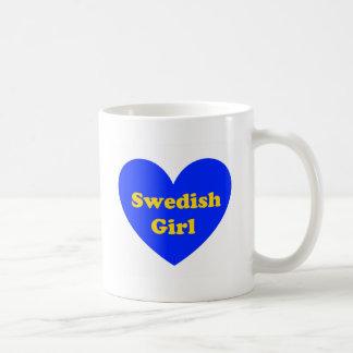 スウェーデンの女の子 コーヒーマグカップ