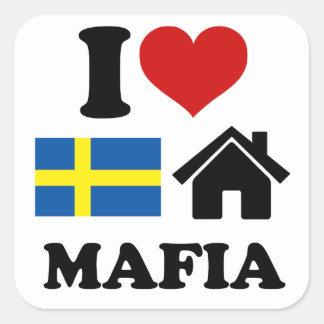 スウェーデンの家音楽 スクエアシール
