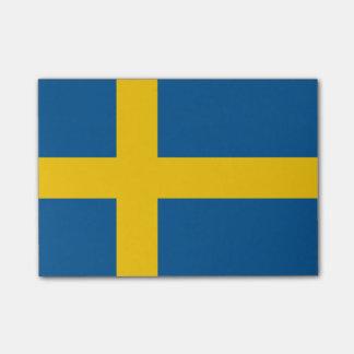 スウェーデンの後it®ノートの旗 ポストイット