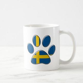 スウェーデンの愛国心が強い猫 コーヒーマグカップ